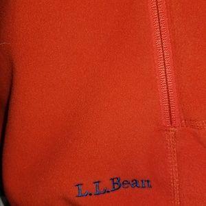 L.L. Bean Jackets & Coats - L.L.Bean Women's Orange Zip Up Fleece Vest Sz Lg